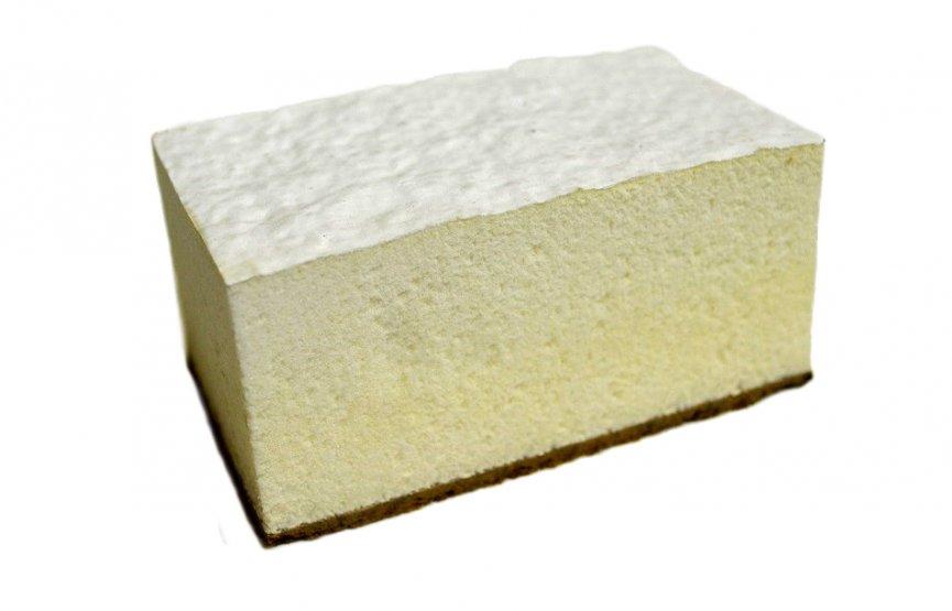 Střešní pěna s hydroizolačním nátěrem - řez