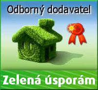 Zelená úsporám - odborný dodavatel