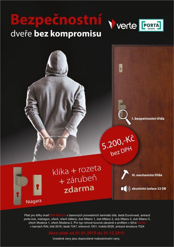 PORTA - Akce bezpečnostní dveře