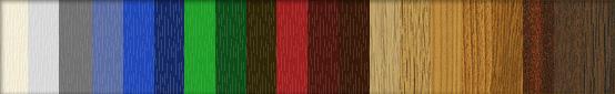 Barvy nalepovacích mřížek
