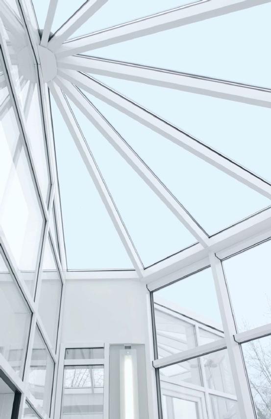 REHAU - konstrukční možnosti zimní zahrady